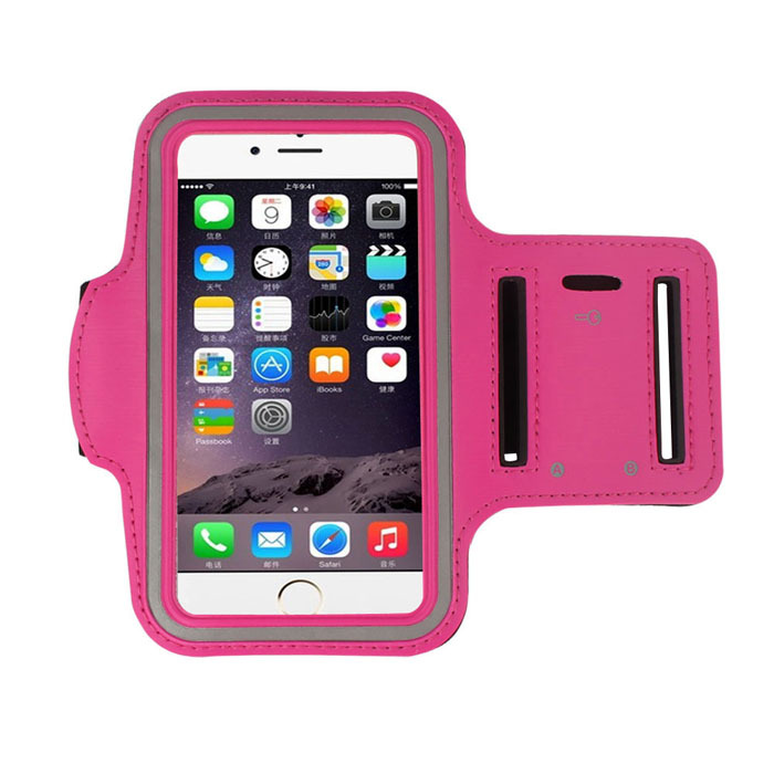 Wholesale Hgih Quanlity New Fashion Workout Phone Armband Gym Running Sport Arm Band Protective Cover Case For iPhone 6 4.7 Inch(China (Mainland))