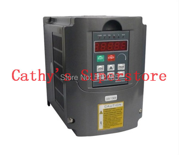 Free Shipping Variable Frequency Drive VFD Inverter 2.2KW 3HP 220V 2.2 kw inverter(China (Mainland))