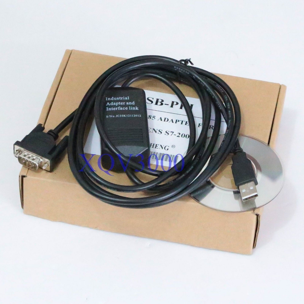 Programming Cable USB-PPI S7-200 PLC USB RS485 ADAPTER - XQV3000 store