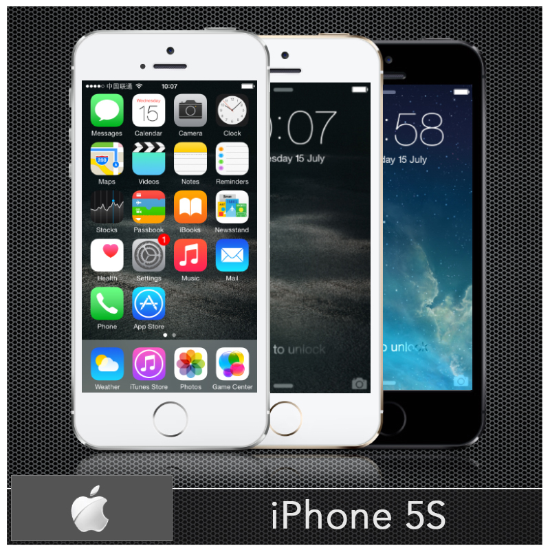 """Original Apple iPhone 5S Unlocked iPhon 5S i5S Mobile Phone Dual-core 16GB/32GB 4.0""""IPS A7 iOS 8 3G 8MP WIFI Cellphone Used(China (Mainland))"""