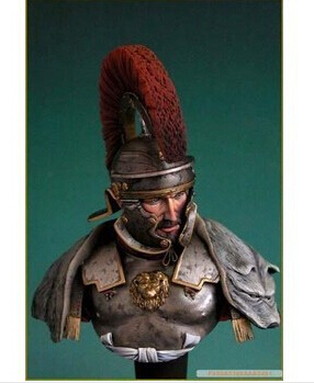 1/10 WWII Soldier World War two RESIN MODEL Roman General Bust royal model(China (Mainland))