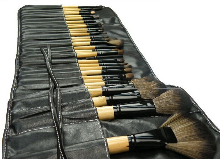for Hair  Professional  makeup pinceis natural 32Pcs synthetic or  brushes Brushes Natural Goat Makeup Cosmetic