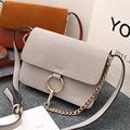2015 New Fake Designer High Quality Rivet Crossbody Bag For Women