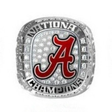 Buy Size 6 15! 2016 New Arrival NCAA 2015 Alabama Crimson Tide Football National Championship Ring Replica Drop for $6.79 in AliExpress store