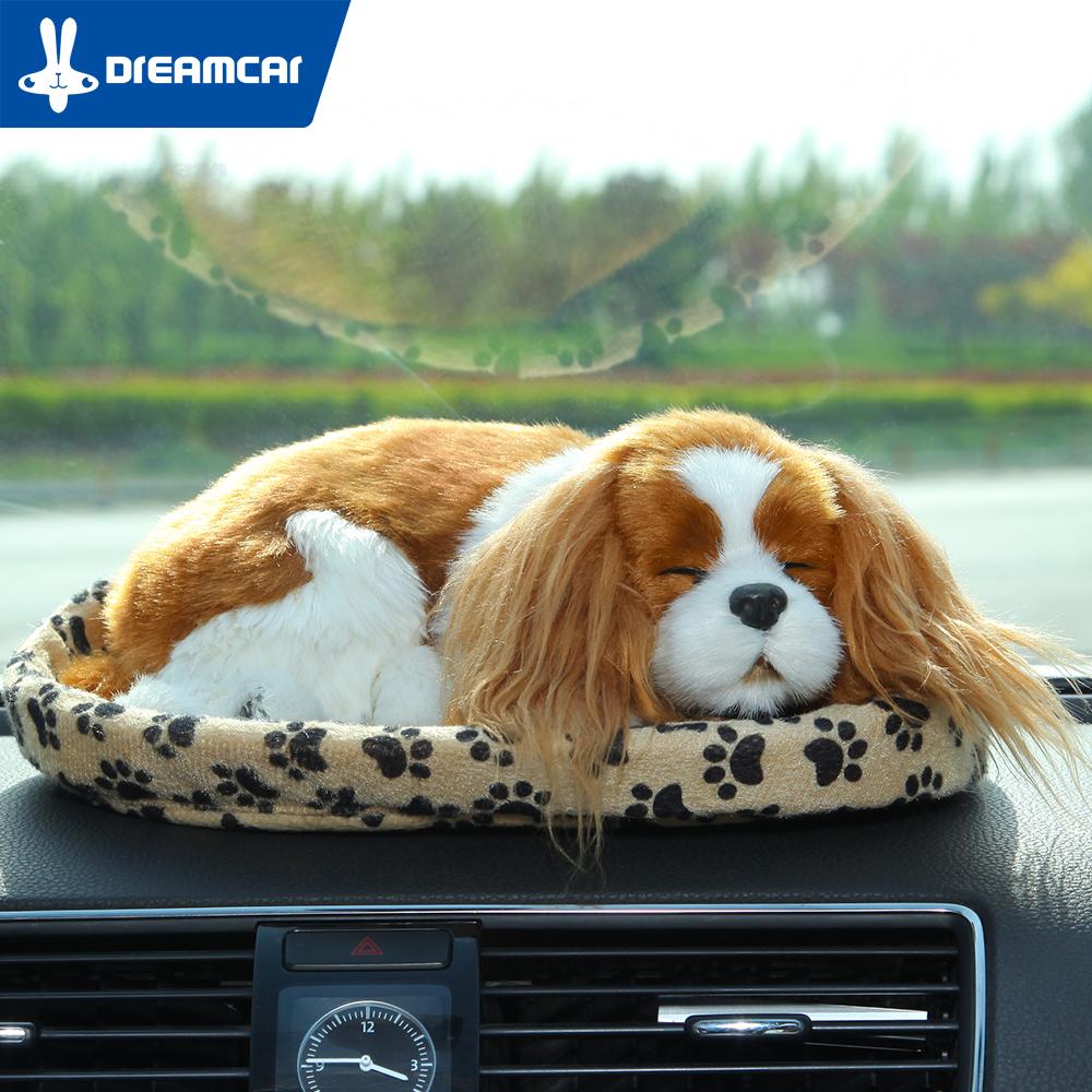 Cute Car Air Freshener Solid Nano Mineral Crystals Simulation Dog Charcoal Bag For Car/Household Air Freshener(China (Mainland))