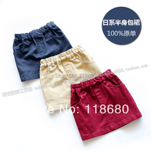 Free shipping new 2015 spring autumn girls skirts kids clothes baby skirts female casual Short skirts(China (Mainland))