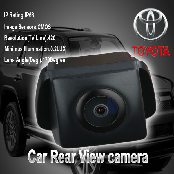 Free shipping CCD color For Toyota Camry 2009 2010 rear view camera reverse camera camry 170 degree waterproof(China (Mainland))