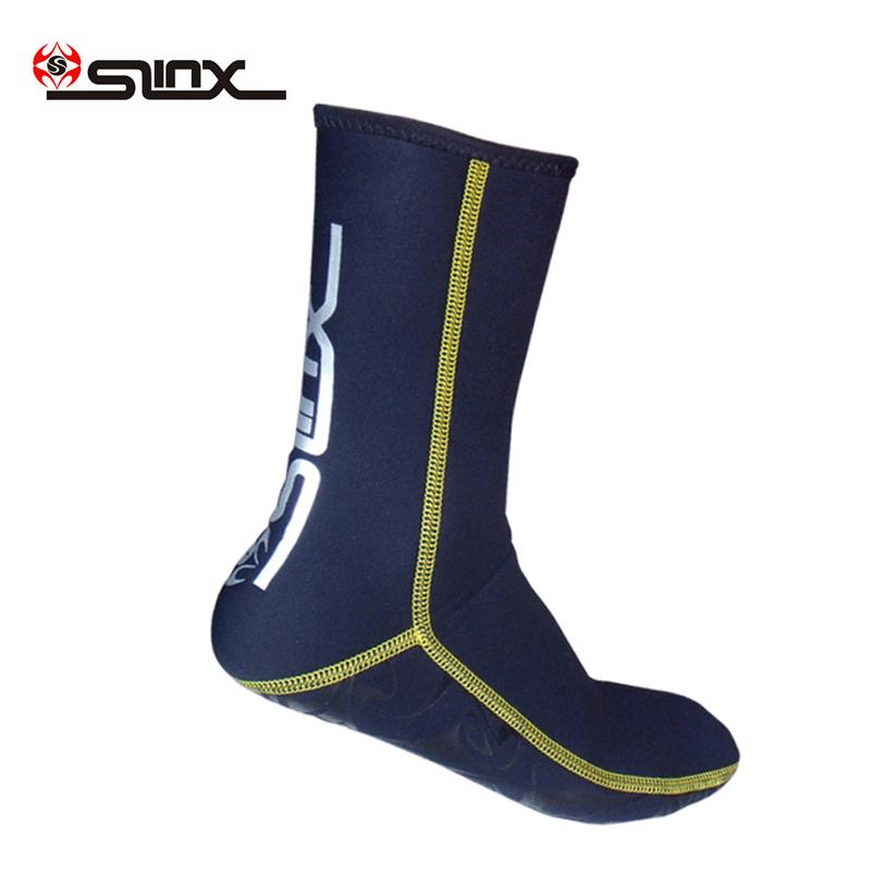 Slinx 3mm neoprene socks Premium Water Fin Sock Perfect for water diving,Snorkeling, Swimming(China (Mainland))