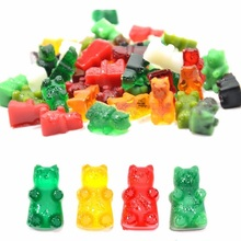 DAY DAY FUN 2017 Fashion Kitchen Cake Tools Mold 50 Cavity Silicone Gummy Bear Chocolate Mold Candy Maker Ice Tray Jelly Moulds(China (Mainland))