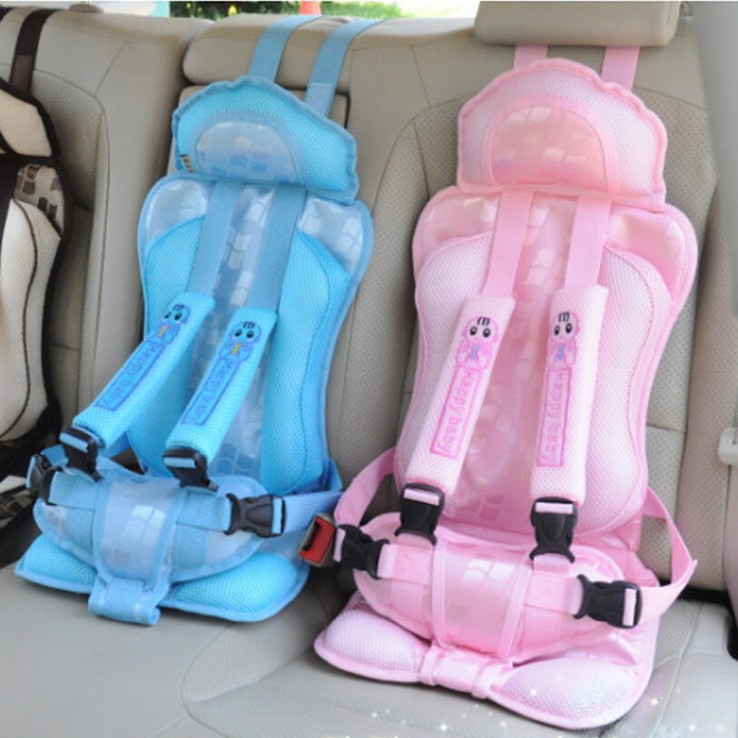 Good Quality Baby Chair Portable,Baby Car Seat Cushion Belt for Girls,5 Point Safety Harness Car Booster Seat,Children Car Chair(China (Mainland))