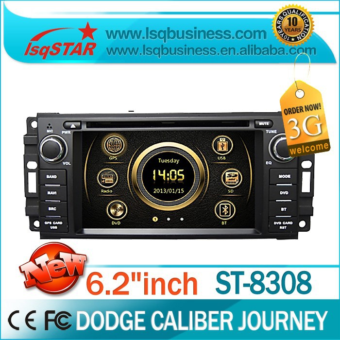 LSQ Star In dash Car dvd player for Dodge Avenger/RAM Pickup Trucks/RAM with dual zone /PIP /GPS/BT/Radio/IPOD/3G/SWC/free MAP(China (Mainland))