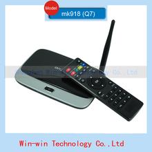 2014 new MK918 Q7 CS918B MK888 XBMC Android tv box RK3188 Quad core Android 4.2 HDMI AV RJ45 RAM 2GB DDR3 8GB XBMC free shipping(China (Mainland))
