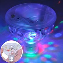 Romantic IP67 Waterproof RGB LED Underwater Light Fashion Spa Bathtub Pond Swimming Pool LED Light Disco Holiday Indoor Lighting(China (Mainland))