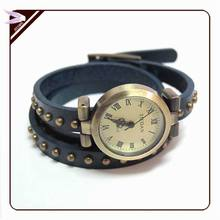 Fashion classic vintage dot nails bracelet watch For female women's Dress Watches bracelet **WB147(China (Mainland))