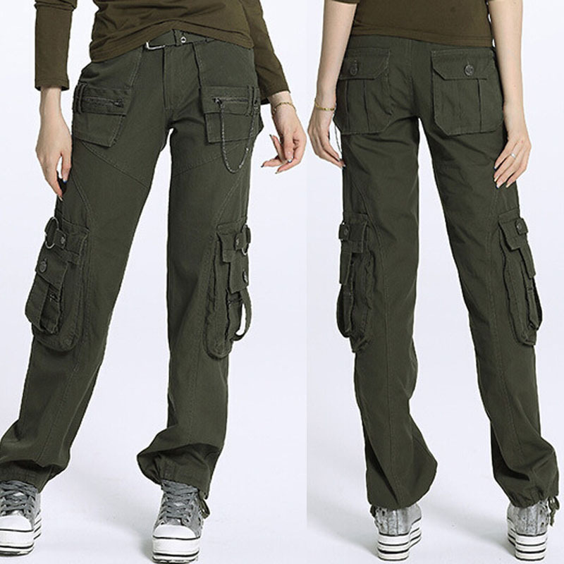 Lastest Women39s Clothing Women Camouflage Camo Cargo Pants Baggy Harem Pants