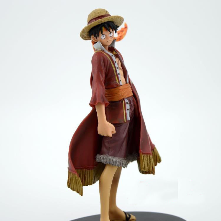 japan popular anime One Piece famous Capitian Monkey D Luffy PVC action figure models for collection kids gift<br><br>Aliexpress