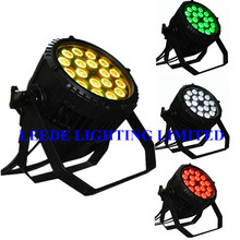 LEEDE LIGHTING china equipment 18x18w waterproof pars CE & ROHS 6 in 1 IP65 par64  (16pcs/lot )(China (Mainland))