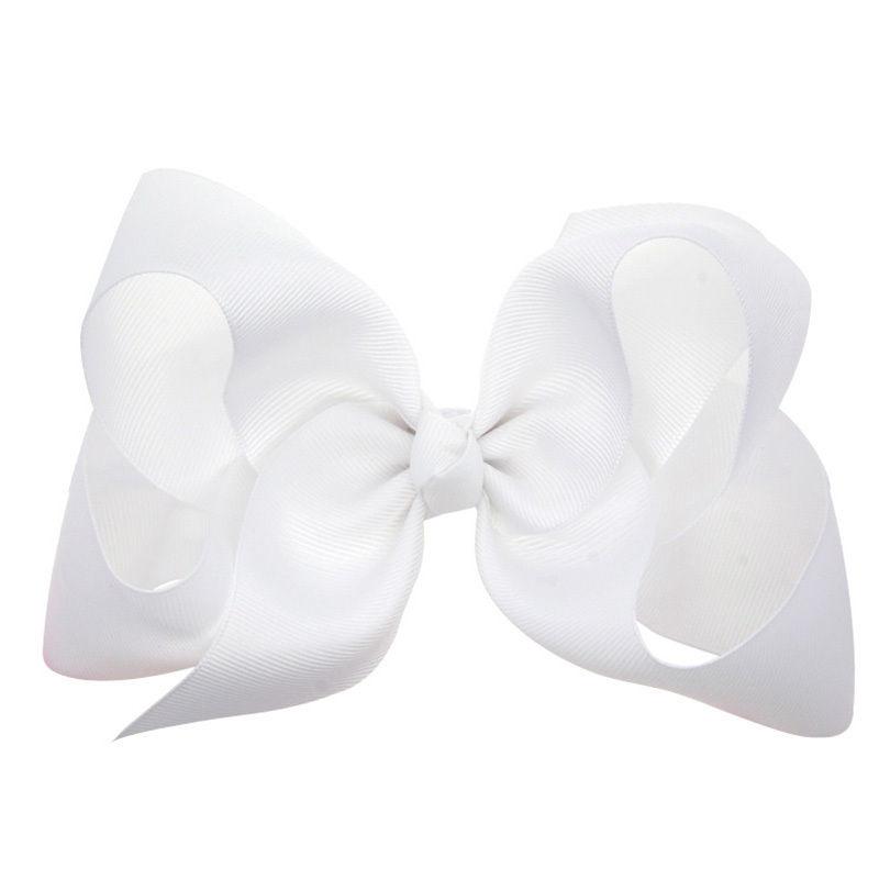 1 pcs 6 inch Boutique Kids Big Hair Clips Grosgrain Ribbon Bows For Girls Barrettes Children Accessories Hairpins Headwear(China (Mainland))