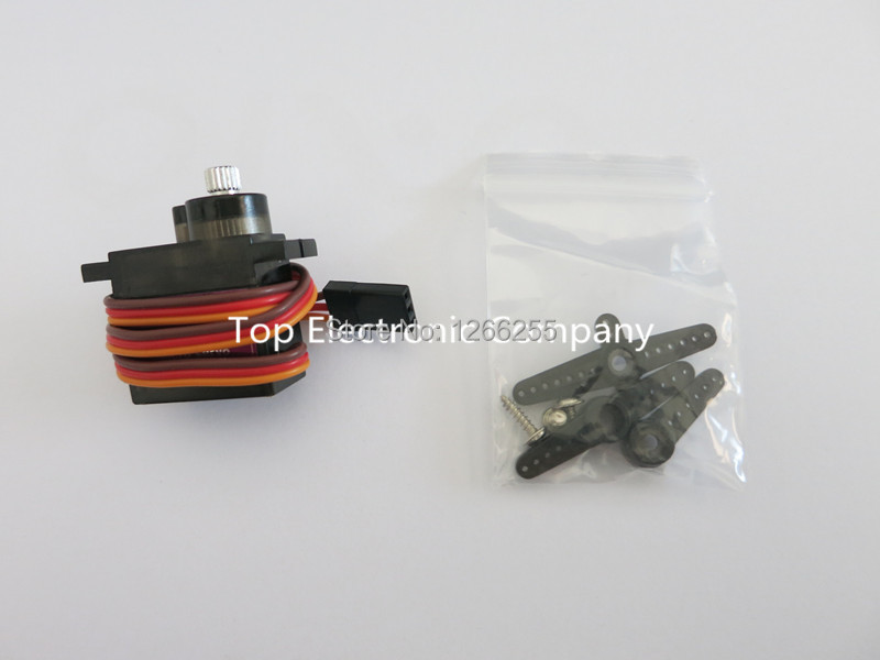 1PCS Metal gear Digital MG90S 9g Servo Upgraded SG90 For Rc Helicopter plane boat car MG90 9G(China (Mainland))