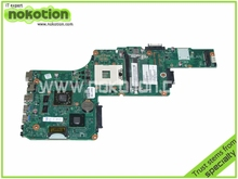 laptop motherboard for toshiba satellite S855 V000275250 1310A2509902 HM76 ATI HD 7670M DDR3 not support i7 3rd generation