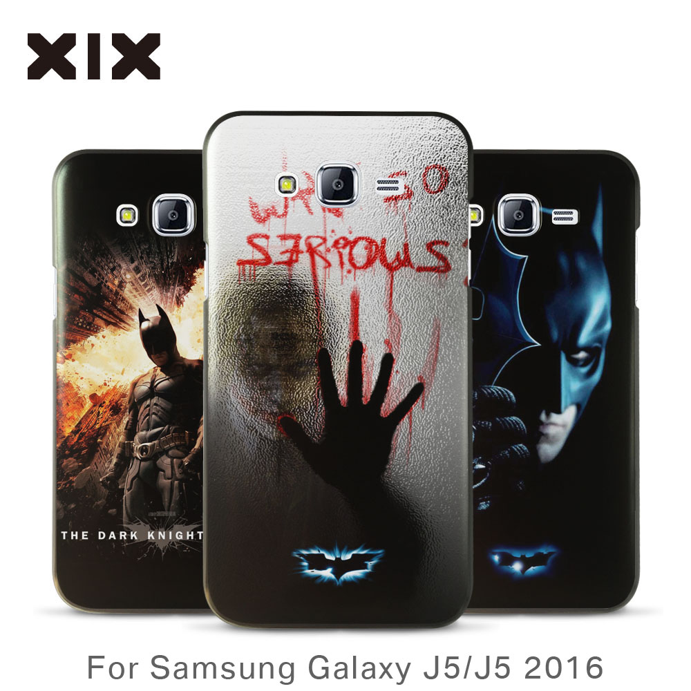 For samsung J5 case 2016 new arrivals for coque galaxy J5 case Batman PC back cover for fundas samsung galaxy J5 case wholesale(China (Mainland))
