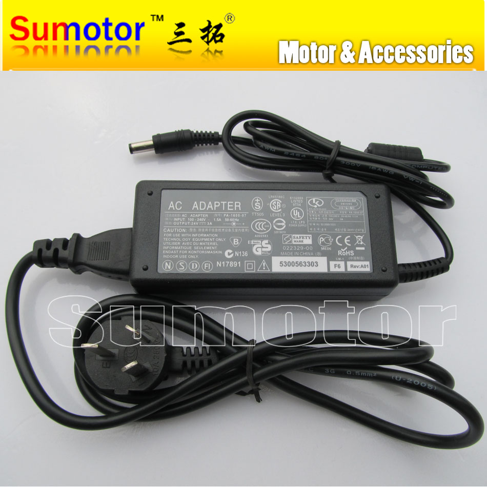 AV to DC 24V 3A power adapter, AC/DC Electric adapter, Input 100-240V~50/60Hz, Output 24V-3A, Wholesale or retail<br><br>Aliexpress