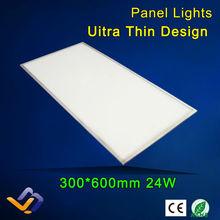 Luci di pannello led 24 w 300x600, 85-265 v ac, luce di soffitto led integrata luce di pannello ha condotto l'illuminazione, 3 anni warrantly(China (Mainland))