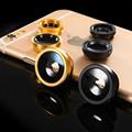 Fish Eye Lenses Wide Angle Macro mobile Phone Lenses 3 in 1 Fisheye Universal Smartphone Lens