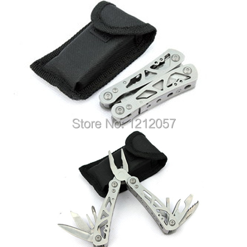 Гаджет  Mini Outdoor Multifunctional Stainless Steel Folding Grip Pliers,Saws,Steel File,Screwdrivers Small Size Multitools None Инструменты
