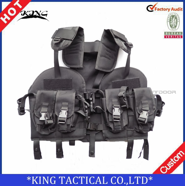 97 Navy SEAL tactical CS army airsoft military tactical vest green black woodland color