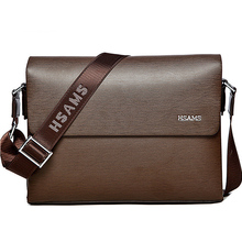 The 2015 New arrivals from leather men messenger Bag Laptop Bag Business casual style briefcase handbags men 's shoulder Bag(China (Mainland))