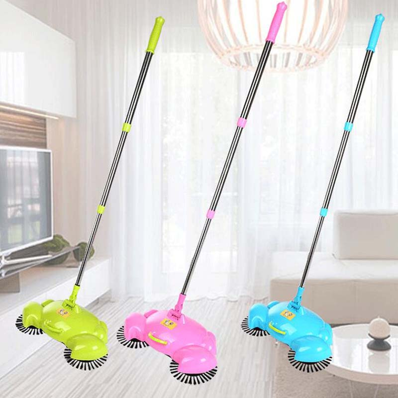 2017 New Home Cleaning Tools Handheld Sweeper Broom Mops 360 Degree Rotatable Cleaner For Home Hard Floors Dust Cleaner(China (Mainland))