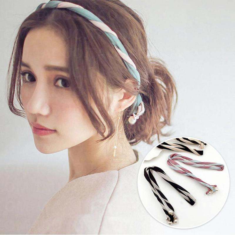 South Korea Pearl Changeable Personality Headband Colorful Hair Band For Woman Girl Hair Accessories Combination Headdress D1(China (Mainland))