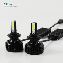 Buy Car LED H7 Headlight 72W headlamp 6600LM 6000K Fog Lamp XENON WHITE BULB REPLACEMENT DRL DAYTIME DRIVING Fog LIGHT for $30.42 in AliExpress store