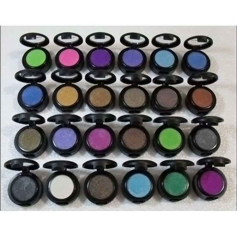 Wholesale Professional makeup Single Eye shadow pigment with 24 different colors 1.5g Eye shadow, pigments FREE SHIPPING(China (Mainland))