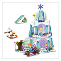 New 205pcs Anna Kristoff s Sleigh Adventure Princess Series Building Block Minifigure Girls Toy Compatible With