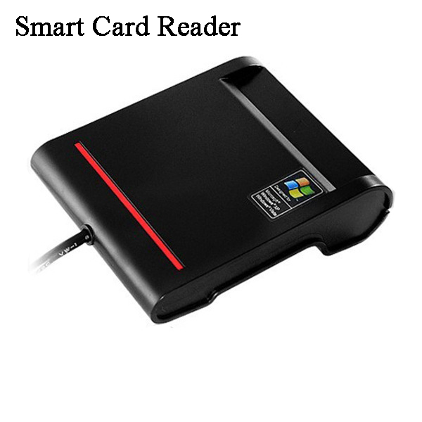 Custom Single usb 2.0 EMV smart card reader & writer / ID card reader / credit card reader / support iso 7816 free test cards(China (Mainland))
