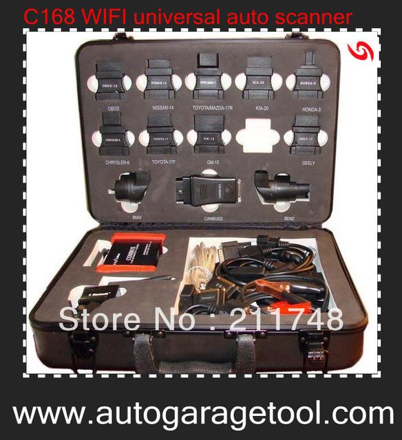 2013 Professional Diagnostic 100% Original Carbrain C168 Profi WIFI OBD2 Scanner Update Online Free Shipping By DHL
