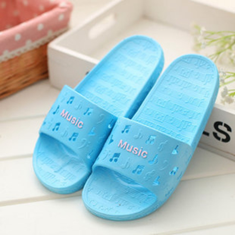 2015 new home bathroom shower skid slippers home interior plastic flooring summer sandals and slippers men and women couple<br><br>Aliexpress