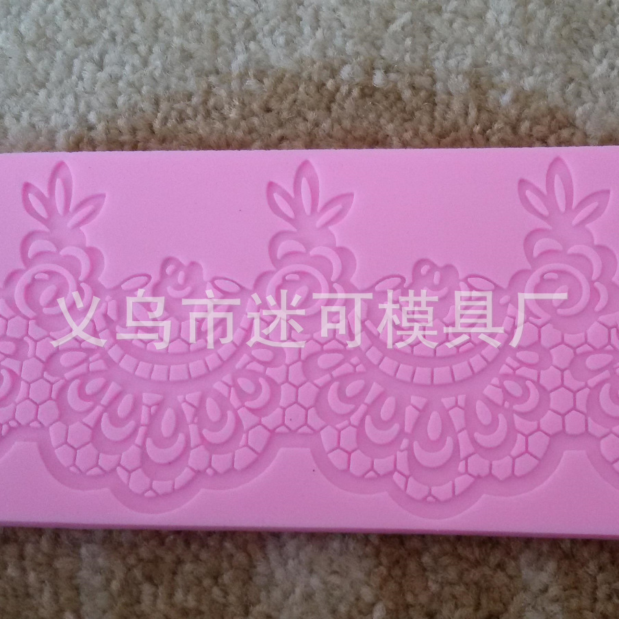 Cake lace Chocolate Candy Jello 3D silicone Mold candle Mould cake tools Soap Mold Sugarcraft Cake Decoration Free shipping 1453(China (Mainland))