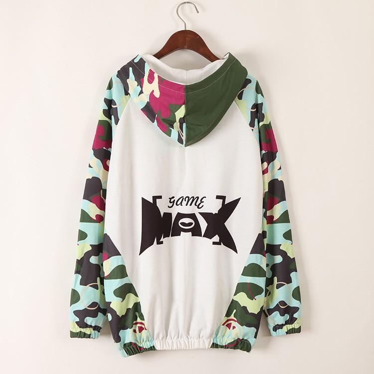 2016 Winter Harajuku Sweatshirt Women Tracksuit Cartoon Print Long Sleeve Hoody Hoodies Hip Hop Punk Style Moletom Feminina