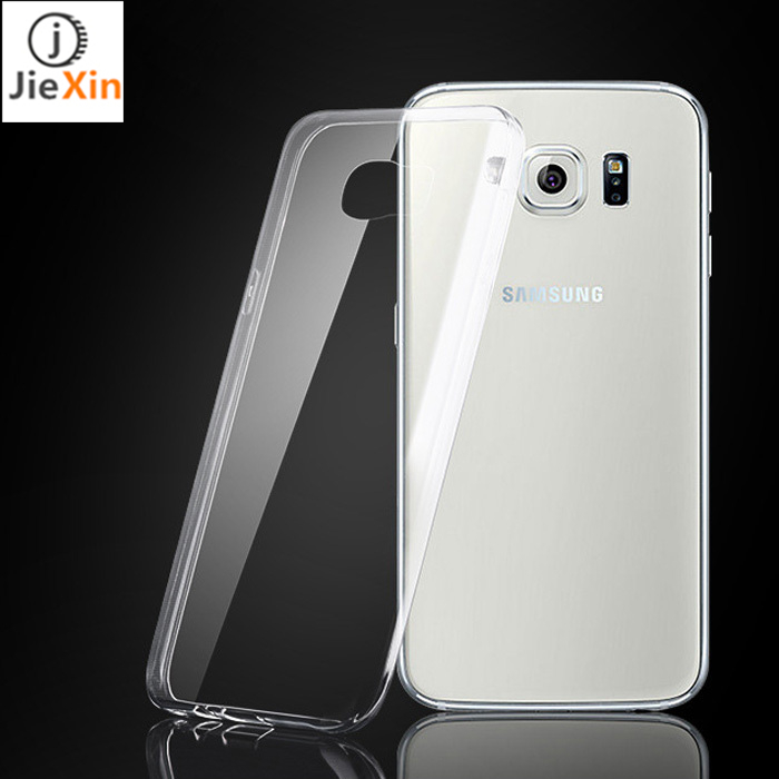 JIEXIN 0.6mm Ultra hin Clear Silicon TPU Soft Cover Case For Samsung Galaxy S3 S4 S5 S6/Note 2 3 4 5/A3 A5 A7 Mobile phone cases(China (Mainland))