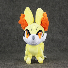 Buy 24CM XY Fennekin Plush Toys Doll Cute Hot Fluffy Fox Blaze Game Plush Toy Soft Stuffed Toys Presents Kids for $6.92 in AliExpress store