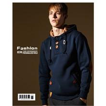 Plus Size M- 2XL 3XL Casual Hoody Sweatshirts Men's Clothing  Outdoor Sport Mens Hoodies White Black Blue Gray Tops(China (Mainland))