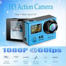 EK EN Ultra HD 4K camera wifi action Dual Screen Sport Camera 170 degrees Wide Angle 2-inch 1080p 60fps cam H3 - OVERTOP Store store