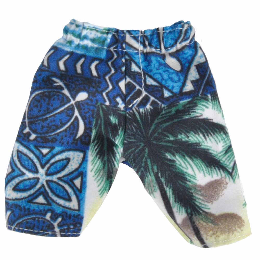 E-TING 2 Kinds Summer time Seaside Swimsuit Bathing Doll Garments Shorts Informal Sports activities Swimwear For Barbie Doll Ken