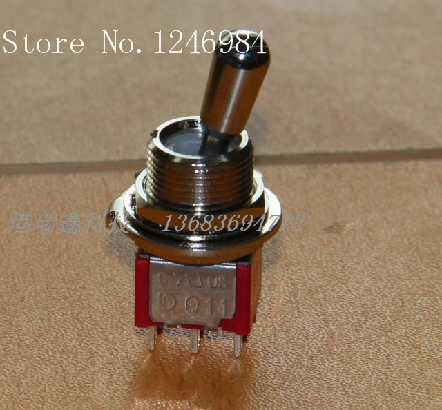 [SA]T8011-Z short-throw six-foot two tranches M12 Dual bulk dust toggle switch Q11 Taiwan Deli Wei--20pcs/lot<br><br>Aliexpress