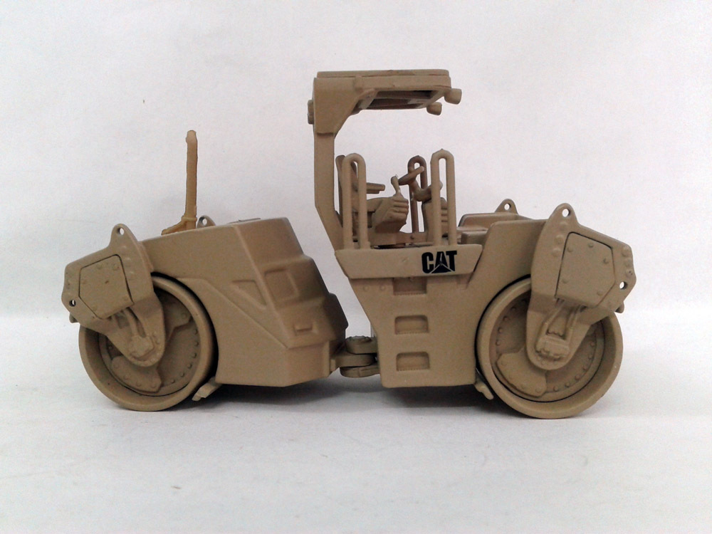 55255 1:50 Caterpillar Military CB-534D Vibratory Asphalt Compactor / Rollertoy(China (Mainland))