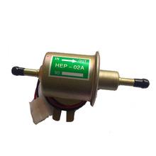 Universal Diesel gasolina gasolina eléctrica de combustible bomba HEP-02A baja presión 12 V(China (Mainland))