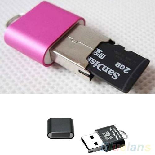 Portable Mini USB 2 0 Micro SD TF T Flash Memory Card Reader Adapter Flash Drive